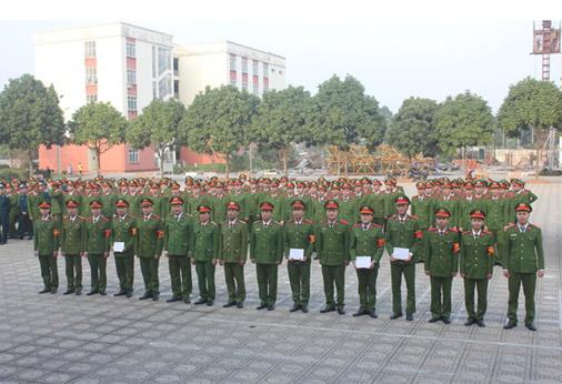 """Hội thi """"Cán bộ Trung đội Giỏi"""" cho học viên Khóa D35, K44"""