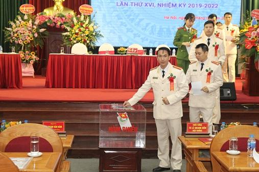 Đại hội Đại biểu Đoàn Thanh niên Cộng sản HCM Trường ĐHPCCC lần thứ XVI