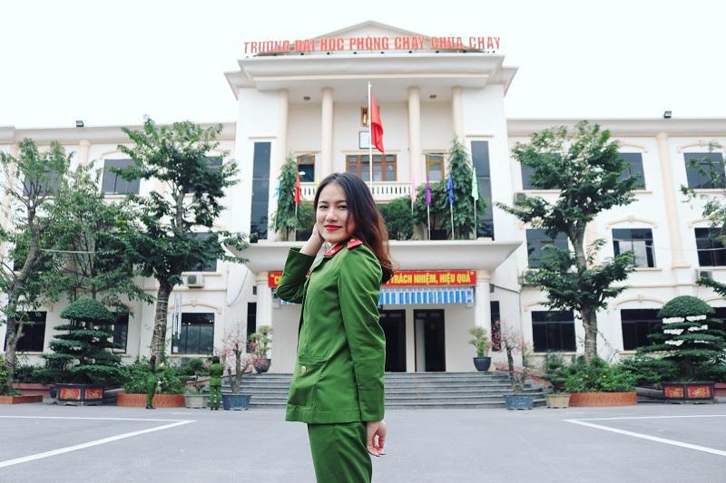 Gương mặt nữ học viên tiêu biểu của Trường Đại học PCCC
