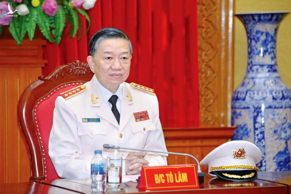 Bộ trưởng Tô Lâm gửi Thư đến toàn thể cán bộ, chiến sĩ Công an nhân dân
