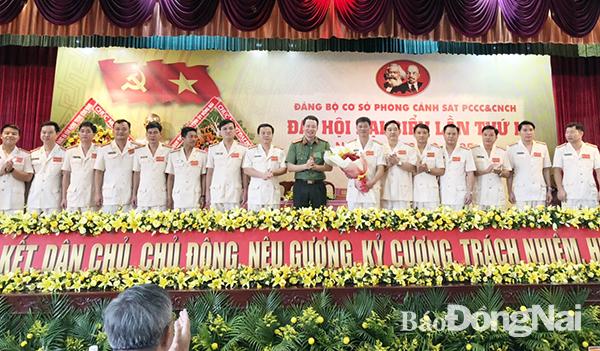 Đồng Nai: Đảng bộ Phòng Cảnh sát PCCC&CNCH – Công an tỉnh Đồng Nai tổ chức Đại hội đại biểu lần thứ I nhiệm kỳ 2020 – 2025