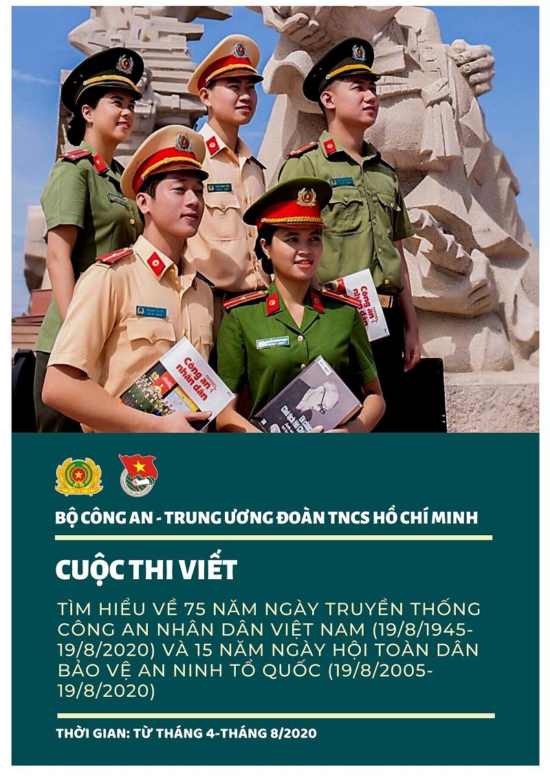 """Trường Đại học PCCC phát động Cuộc thi viết """"Tìm hiểu 75 năm Ngày truyền thống Công an nhân dân Việt Nam (19/8/1945 – 19/8/2020), 15 năm Ngày hội Toàn dân bảo vệ an ninh Tổ quốc (19/8/2005 – 19/8/2020)"""""""