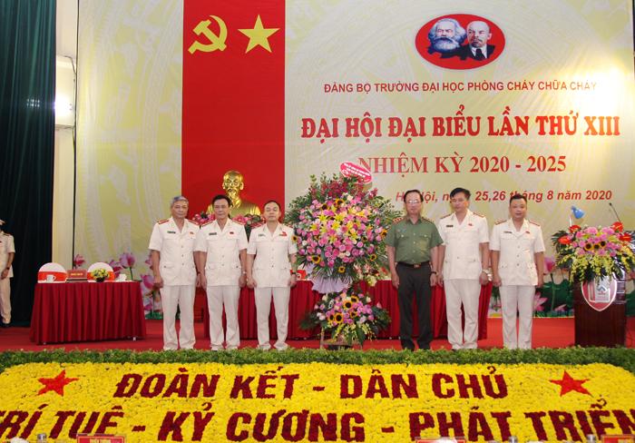 Đại hội Đại biểu Đảng bộ Trường Đại học PCCC lần thứ XIII (nhiệm kỳ 2020 – 2025)