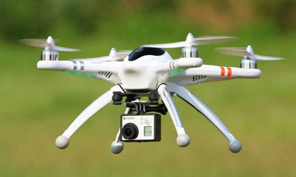 Ứng dụng Drone trong công tác chữa cháy và cứu nạn, cứu hộ.
