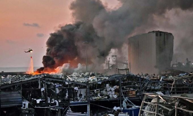 Nổ lớn ở Lebanon, 78 người chết