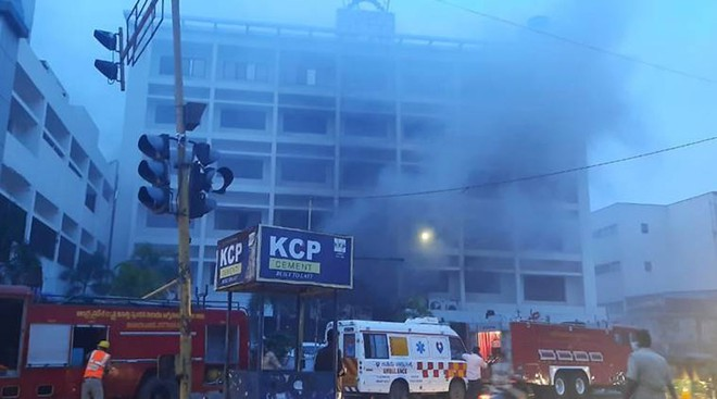 Cháy cơ sở điều trị COVID-19 ở Ấn Độ, 11 người thiệt mạng