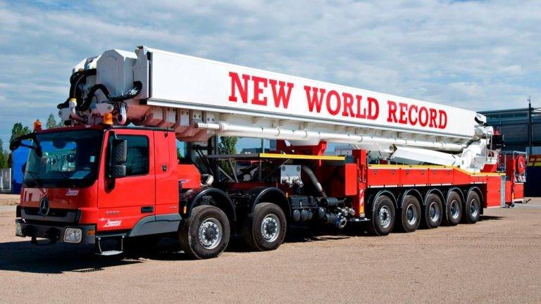 Bronto Skylift F112 HLA – xe thang chữa cháy và cứu nạn, cứu hộ cao nhất thế giới