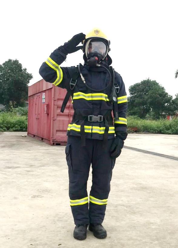 Những điểm mới của bộ trang phục chữa cháy và cứu nạn, cứu hộ Model Fire-Pro-01