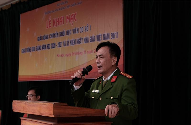 Giải Bóng chuyền khối học viên chào mừng Khai giảng năm học mới và Ngày Nhà giáo Việt Nam 20/11/2020