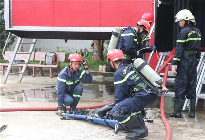 Ứng dụng công nghệ Fireblast trong phòng cháy, chữa cháy