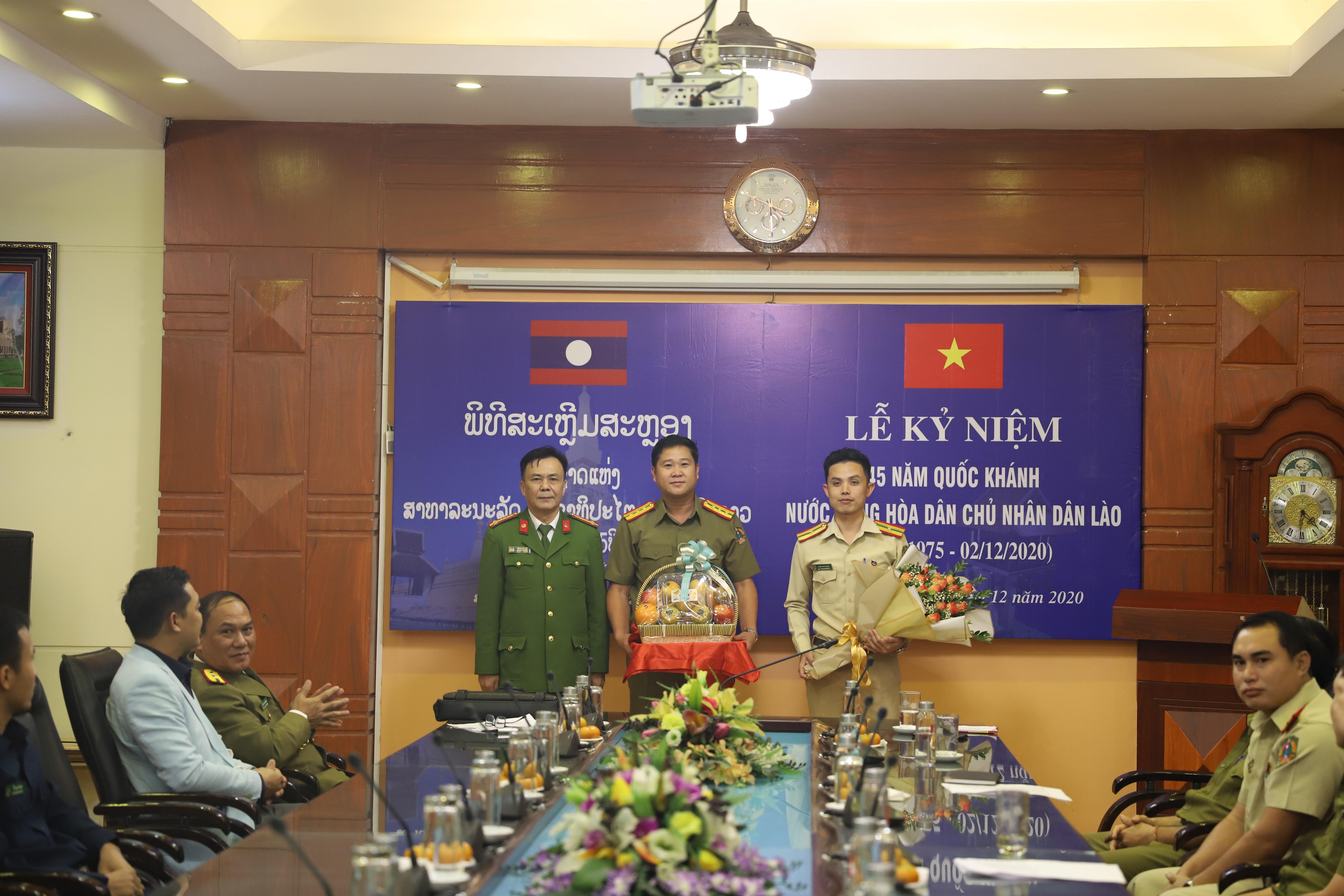 Lễ Kỷ niệm 45 năm Quốc Khánh nước Cộng hòa Dân chủ nhân dân Lào