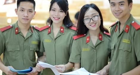 Các phương thức xét tuyển vào các trường Công an nhân dân (CAND) năm 2021