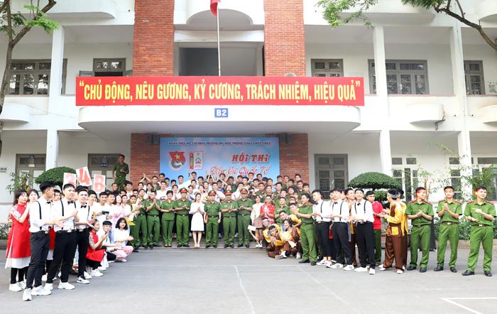 Hội thi Dân vũ quốc tế Trường Đại học PCCC