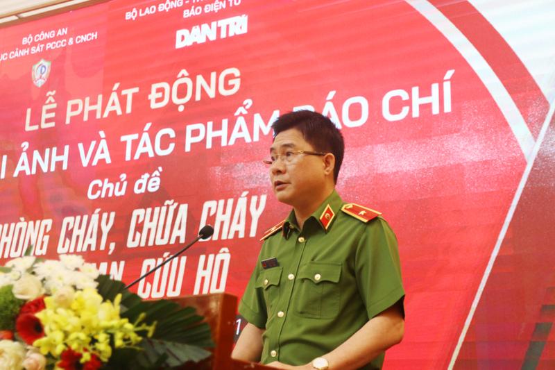 Cục Cảnh sát PCCC&CNCH phối hợp Báo điện tử Dân trí phát động Cuộc thi ảnh và tác phẩm báo chí chủ đề PCCC&CNCH