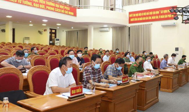 """Hội thảo """"Lịch sử lực lượng Phòng cháy, chữa cháy và cứu nạn cứu hộ Việt Nam giai đoạn 1945 – 2021"""""""